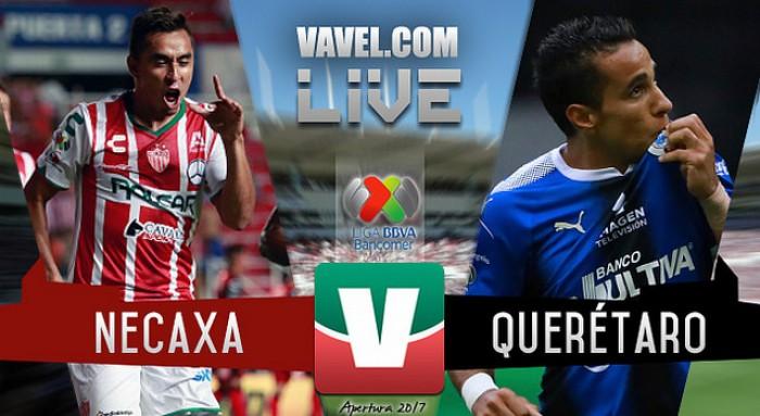 Resultado y goles del Necaxa vs Querétaro en Liga MX 2017