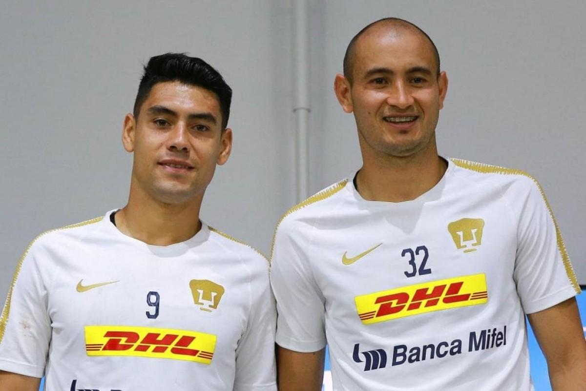 Mora y González se comprometen con la afición de Pumas