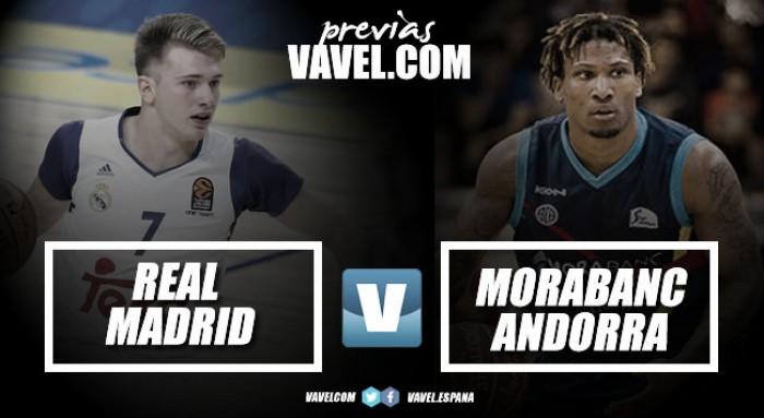 Previa Real Madrid - Morabanc Andorra: empieza la liga con espectáculo