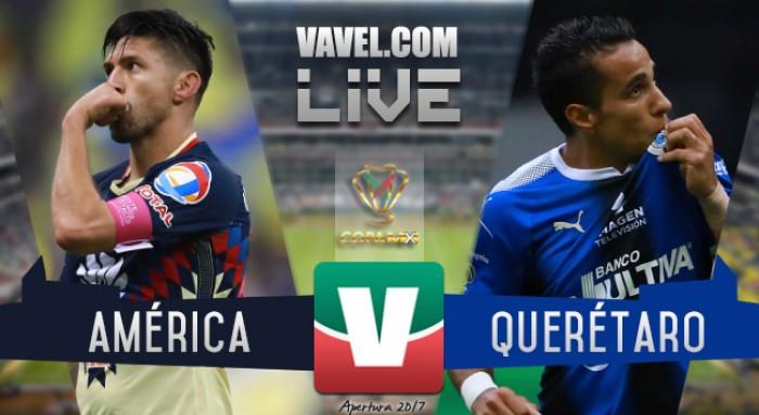 Resultado y goles del América vs Querétaro en Copa MX (1-1)