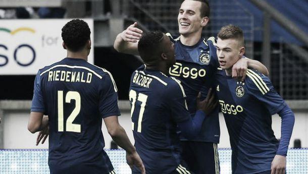 Victoria cómoda del Ajax ante el Heerenveen