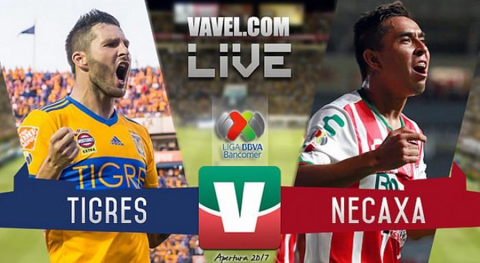 Resultado y gol del Tigres 1-0 Necaxa en la Liga MX 2017
