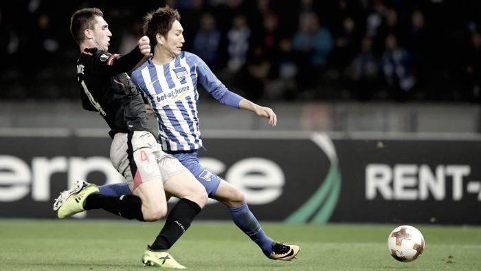 Com goleiros inspirados, Hertha Berlin e Athletic Bilbao empatam sem gols