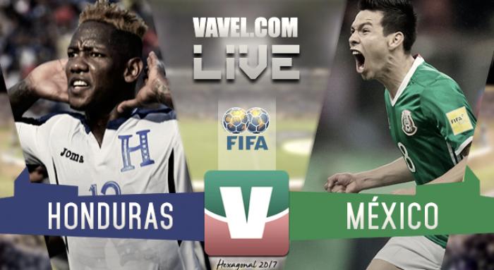 Resultado Honduras 3-2 México por Hexagonal CONCACAF 2017