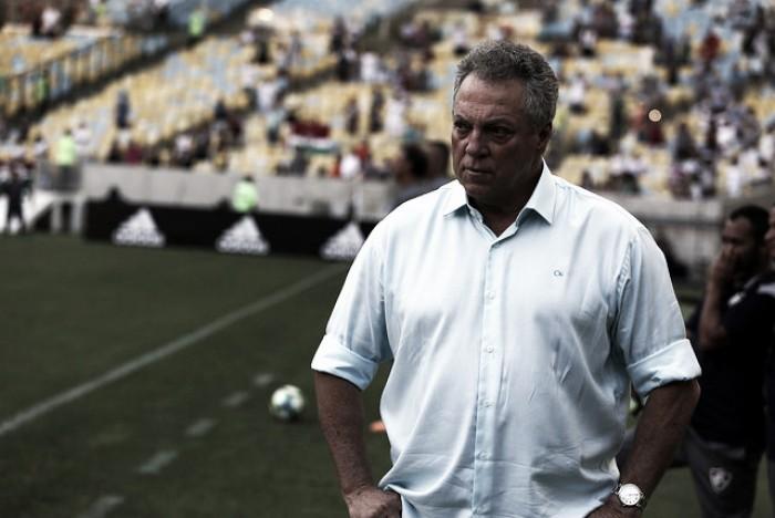 """Abel Braga inocenta defesa após empate no Fla-Flu: """"Não houve falha"""""""