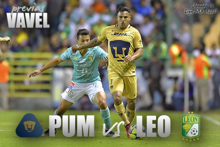 Apertura 2017 en vivo: Pumas vs León, Liga MX