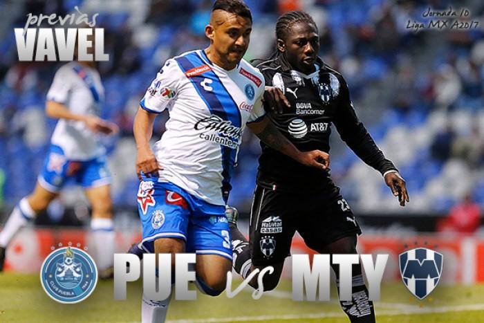 Puebla vence 2-0 a Rayados y le quita lo invicto