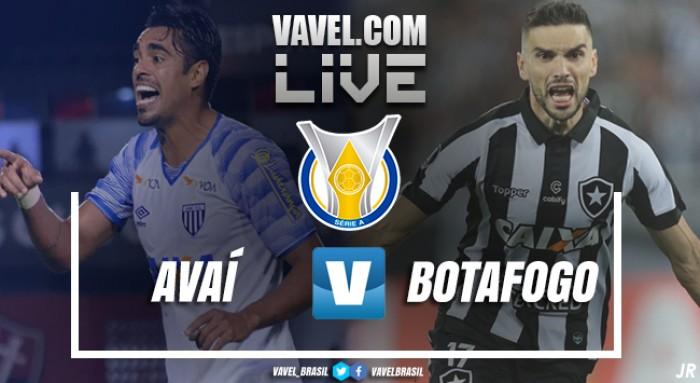 Resultado Avaí x Botafogo pelo Campeonato Brasileiro 2017 (1-1)