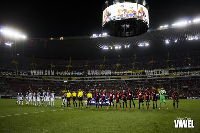 Fotos e imágenes del Atlas 1-2 Monterrey de los Cuartos de final de Liga MX Apertura 2017