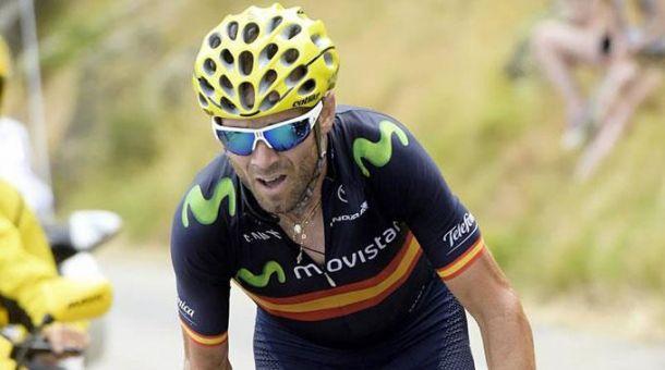 Alejandro Valverde si aggiudica la quarta tappa della Vuelta
