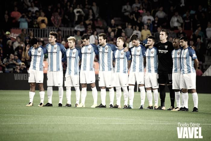 FC Barcelona - Málaga CF: puntuaciones del Málaga, jornada 9 de la Liga Santander
