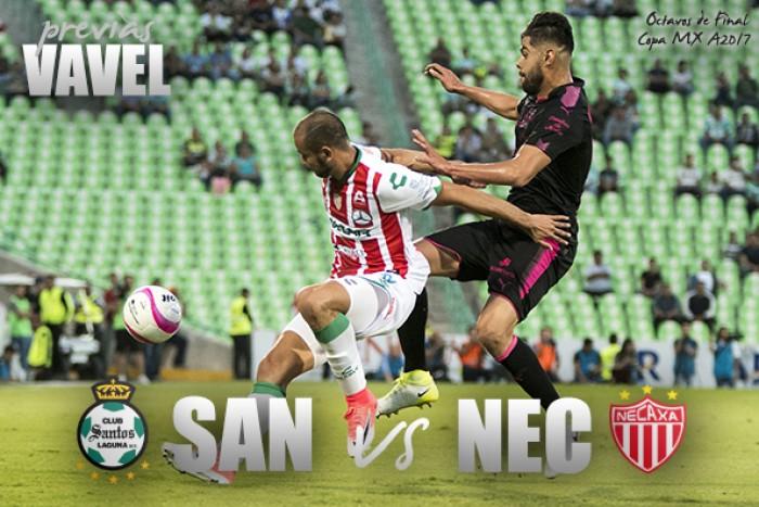 Santos sentenció a un triste Necaxa y clasificó en Copa MX
