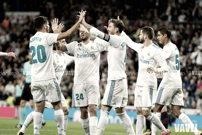 Real Madrid - Eibar: puntuaciones Real Madrid, jornada 9