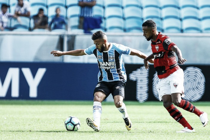 Na despedida da Arena em 2017, reservas do Grêmio empatam com Atlético-GO