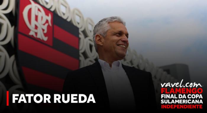 Fator Rueda: comandante do Flamengo esteve em três das últimas quatro finais da América