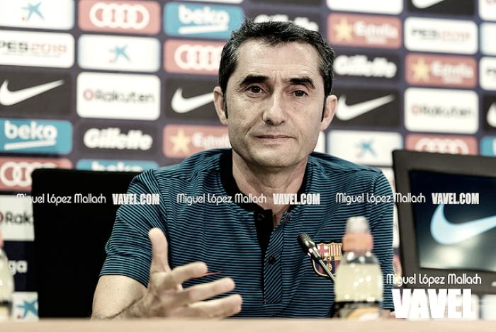 """Valverde: """"No creo que una victoria acabe con la Liga, el Atlético está a seis puntos"""""""