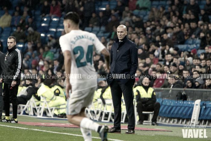 """Zidane: """"El rival ha hecho un gran partido"""""""