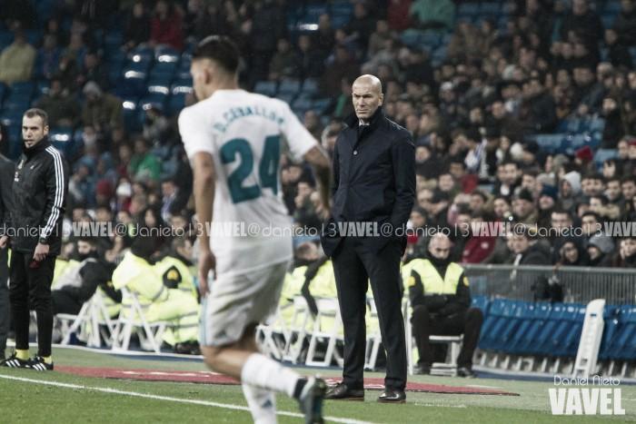 """Zidane minimiza críticas após empate: """"Não estou chateado, era o previsto"""""""