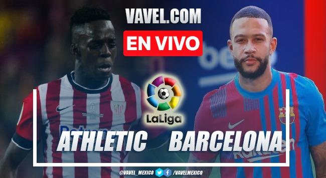 Goles y resumen del Athletic Club 1-1 Barcelona en LaLiga