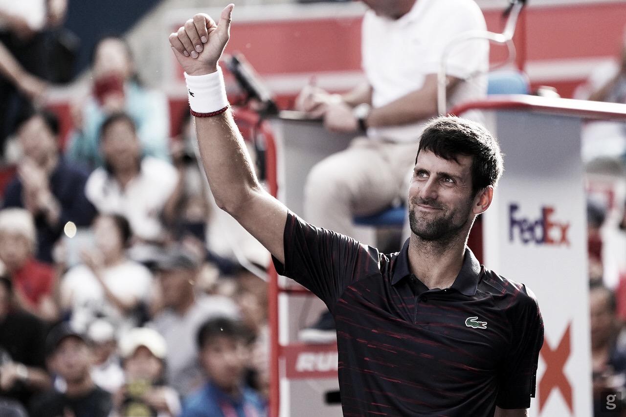 Arrasador, Djokovic bate Pouille em 50 minutos e avança às semis em Tóquio