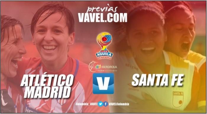 Previa Atlético de Madrid vs. Independiente Santa Fe: Campeón de España vs. Campeón de Colombia