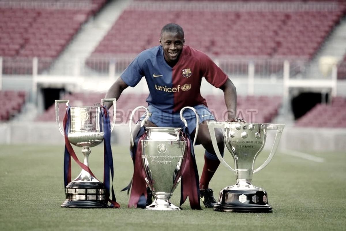 Los futbolistas africanos a lo largo de la historia del Barça