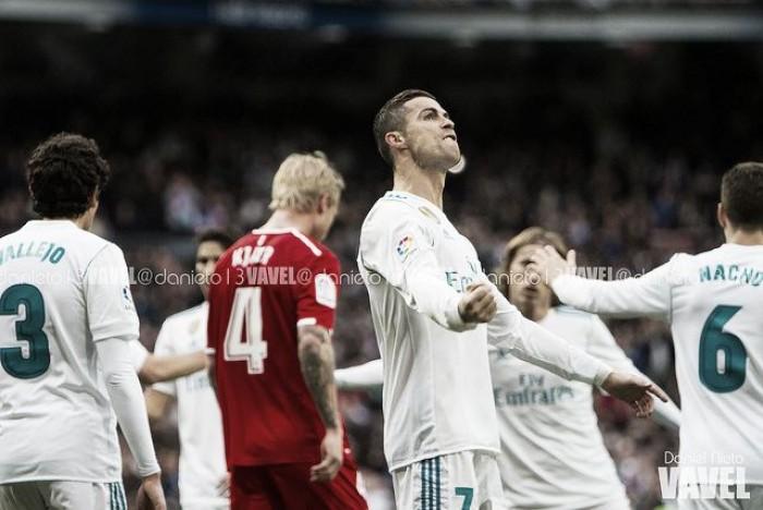 Las puntuaciones: Real Madrid-Sevilla
