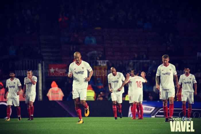 Sevilla FC – Levante UD: puntuacionesde Sevilla FC, jornada 16 de Liga Santander