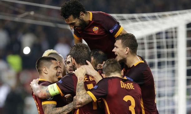 La Roma se lleva un partido loco