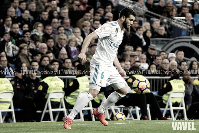 Nacho, baja para el enfrentamiento contra el Valencia