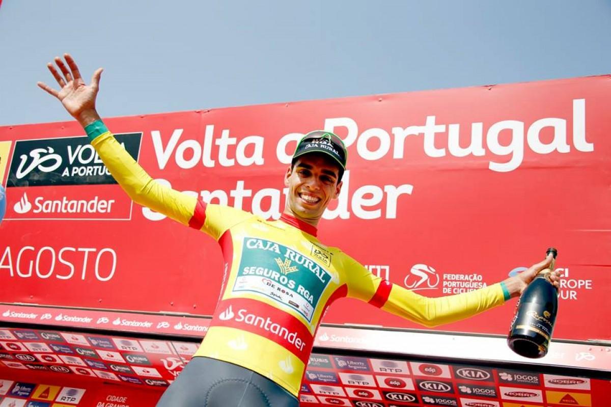 Volta: Rafael Reis vence prólogo e veste a camisola amarela