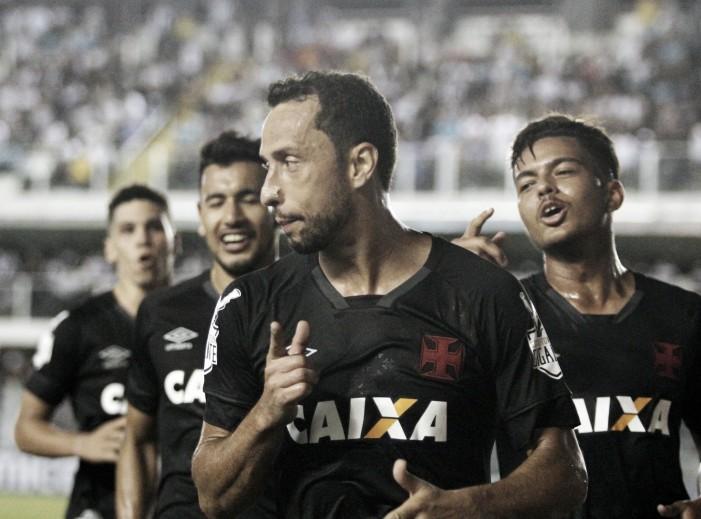 Com golaços, Vasco busca virada nos acréscimos sobre Santos e segue na cola do G-7