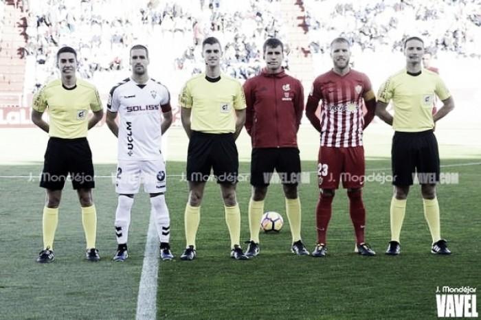 Álvaro Moreno Aragón arbitrará el Barça B - Sporting de Gijón