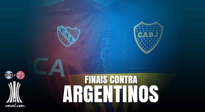Grêmio contra argentinos em final de Libertadores: um histórico preocupante