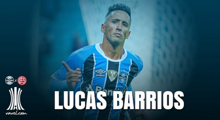 Recuperado de lesão, Lucas Barrios admite ansiedade para decisão contra Lanús