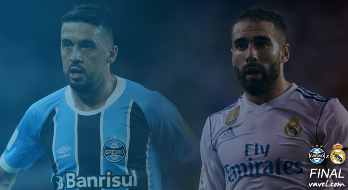 Servidores: Edilson e Carvajal ocupam lateral direita de Grêmio e Real Madrid na decisão mundial