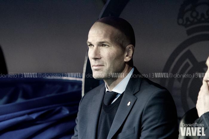 """Zidane: """"No jugamos como se debe"""""""