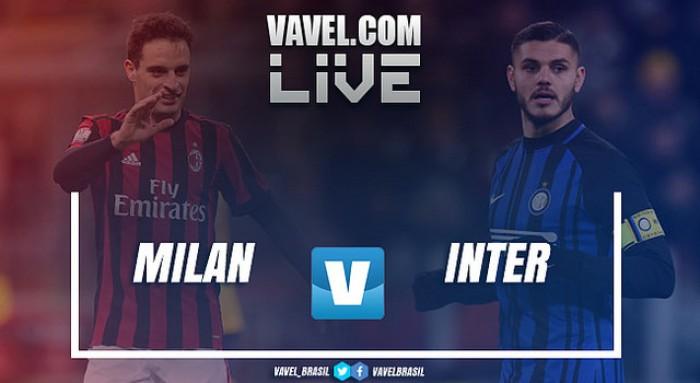 Resultado Milan x Internazionale pelas quartas de final da Copa Itália (1-0)