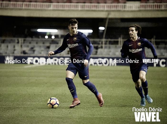 El Barça B vence en un amistoso a puerta cerrada al Badalona