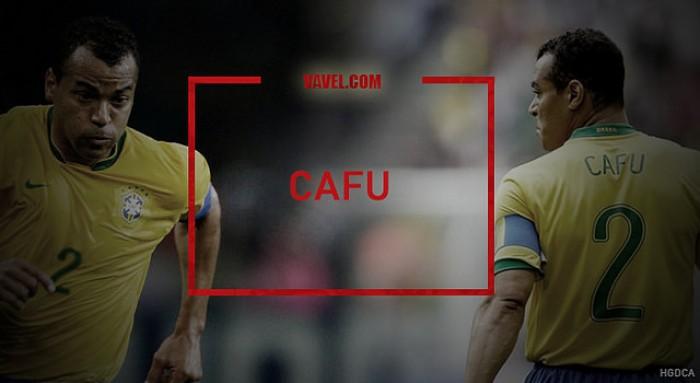 Capitão do penta e colecionador de recordes, Cafu fez história na Seleção Brasileira