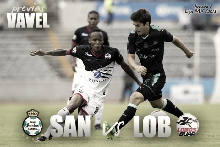 Previa Santos - Lobos BUAP: Cerrojazo a la primera jornada del torneo