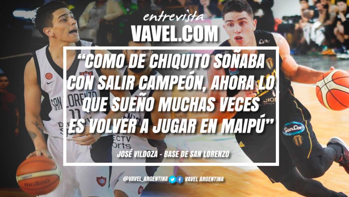 """Entrevista (parte II). José Vildoza: """"Salir campeón fue muy lindo, lo disfruté mucho"""""""