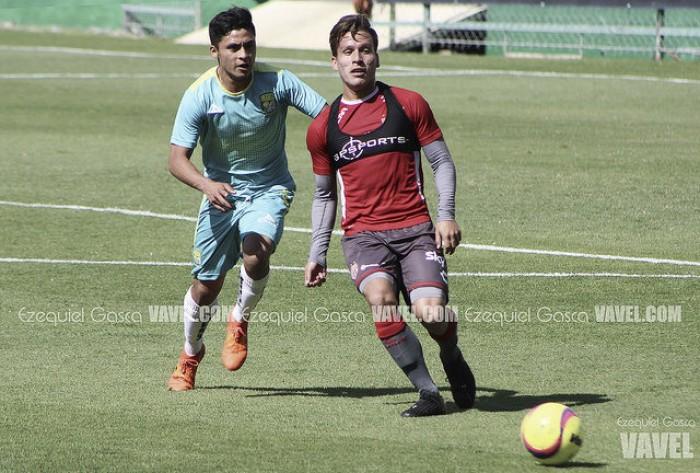 Rubén González, feliz por su debut en Liga con Necaxa