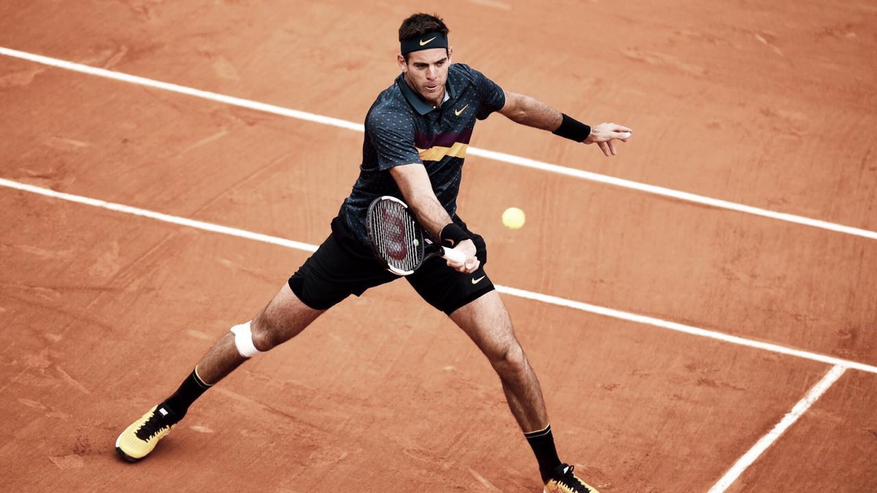 Del Potro sofre, mas vence Nishioka e vai à terceira rodada de Roland Garros