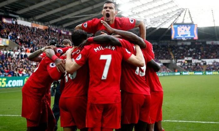 Premier League: il Liverpool ribalta lo Swansea