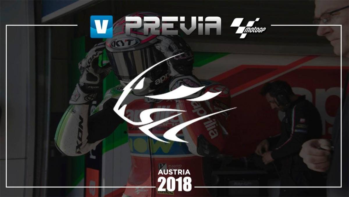 Previa Aprilia GP de Austria:borróny cuenta nueva