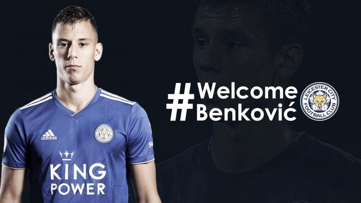 Leicester City anuncia Filip Benkovic como novo reforço, com contrato de cinco temporadas