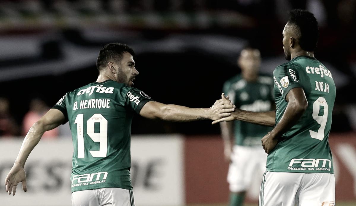 Notas: Bruno Henrique brilha e Palmeiras mostra segurança em estreia na Libertadores