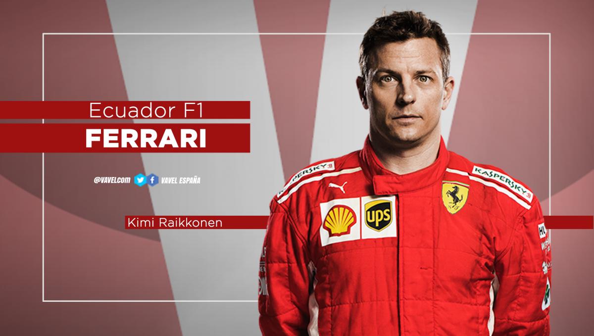Ecuador Mundial: Kimi Raikkonen, regularidad a la sombra de Vettel