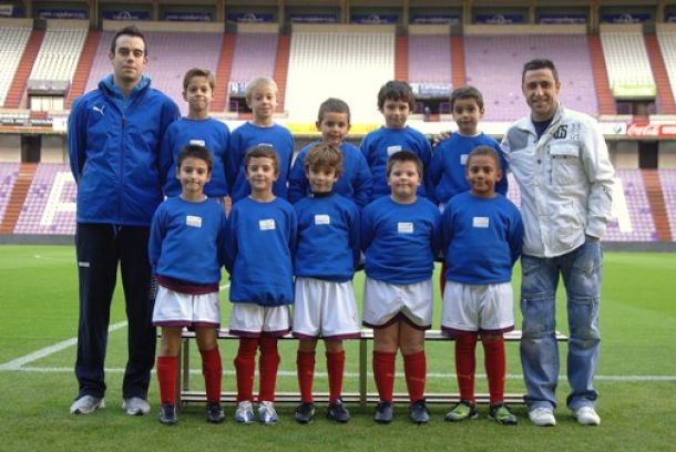 Apertura del VI curso de la Escuela de Fútbol Fundación Real Valladolid